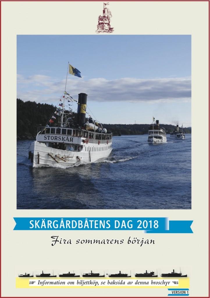 Skärgårdsbåtens Dag 2018 program A5